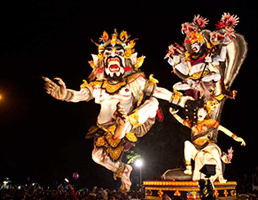 Ogoh-ogoh di Bali